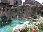 Eguisheim, eines der schönsten Dörfer, Elsass, F